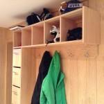 Custom Ski helmet coat organizer