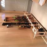 Custom Ski rack