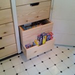 Space organizing with custom cabinet inserts