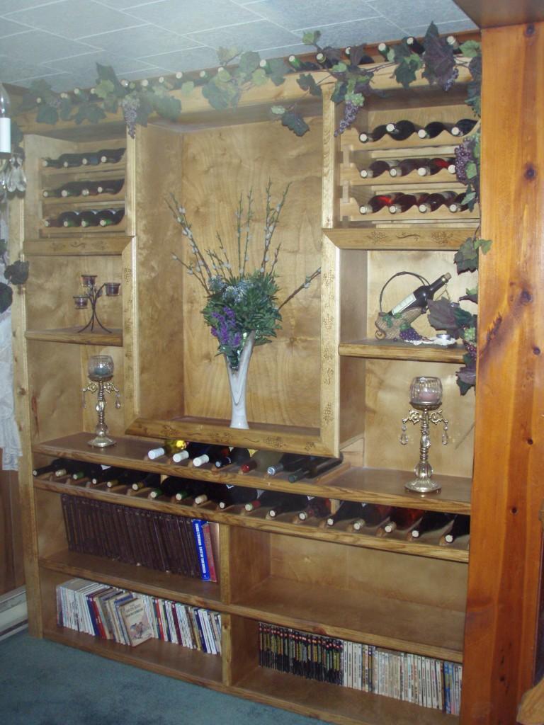 Build in Wine rack