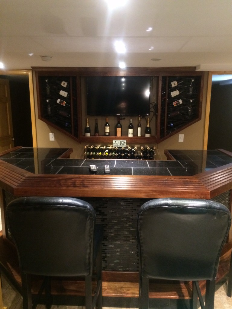 Rosewood Custom bar