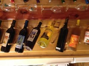 Custom wine rack